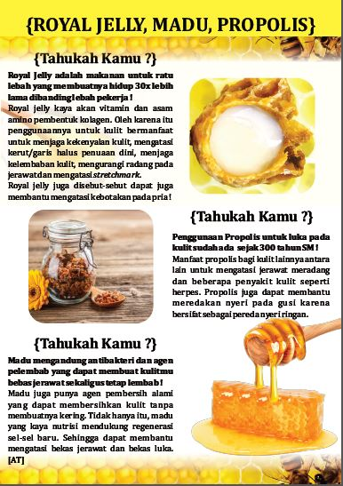 royal jelly Madu Popolis